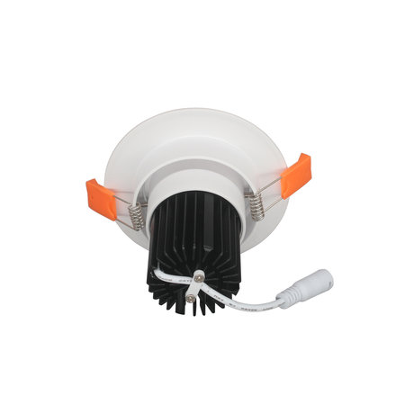 Recessed spot 119 mm saw size 90mm 15W LED orientable 5 year warranty