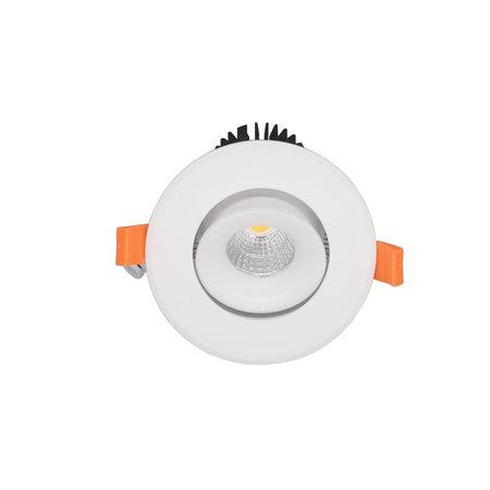 Inbouwspot 119 mm zaagmaat 90mm 15W LED richtbaar 5 jaar garantie