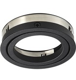 Recessed spot black hole size 80mm, outside size 93.7 mm