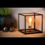 Lampe de table Cube noir E27 pied de lampe