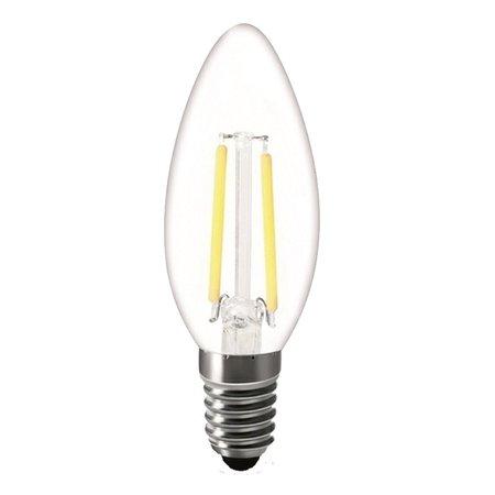 LED kaarslamp dimbaar 2W kooldraad