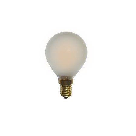 Lampe boule dimmable filament LED 2W