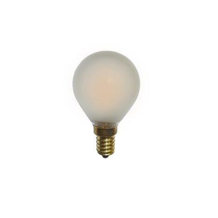 LED kogellamp E27/E14 dimbaar kooldraad 2W