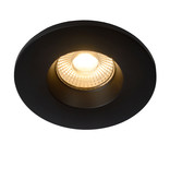 Dimbare badkamerspot inbouw 6.5W LED gat maat 70mm wit en zwart