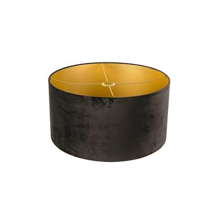 Lamp zwart goud pendelend 500mm Ø