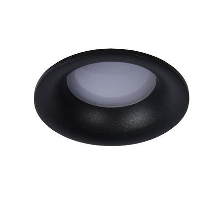Ronde of vierkante inbouwspot vochtige ruimte wit of zwart met GU10 IP44 85mm