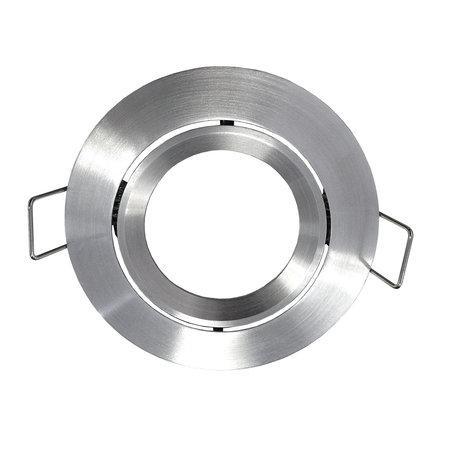 Spot encastrable GU10 sans lampe rond blanc, gris ou noir orientable