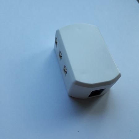 Kleine inbouwspot met 11 mm inbouwhoogte gatmaat 50 mm buitenmaat 60 mm