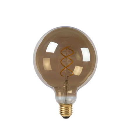 LED filament E27 lamp 5W spiraal amber of gerookt