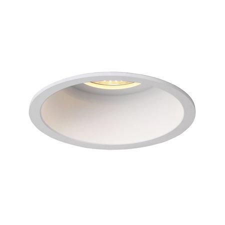 Downlight 85mm or 100mm black or white deep GU10 orientable