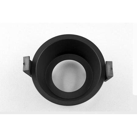 Inbouwspot 85mm of 100mm zwart of wit diep GU10 richtbaar