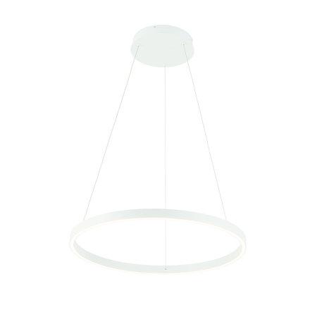 Hanglamp design rond LED zwart of wit 54W 600mm Ø licht up en down