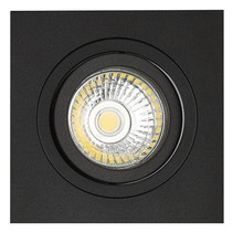 Recessed spotlight black round hole size 80mm, outside size 93.7 mm - Copy