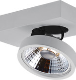 Ceiling spot with 1 x AR111 12W white or black