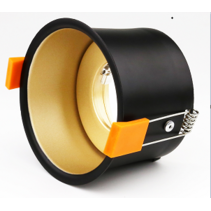 Gold downlight 90mm outsize GU10