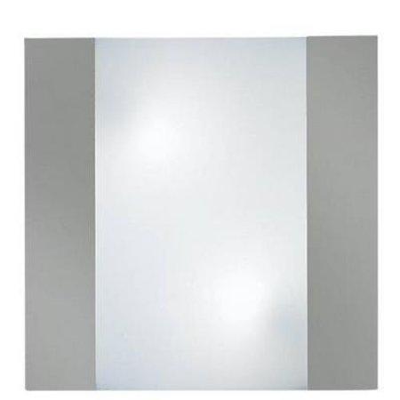 Applique murale carrée frontale 350mm large 2xE27