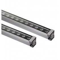 LED bar 18W 0,5m zwart