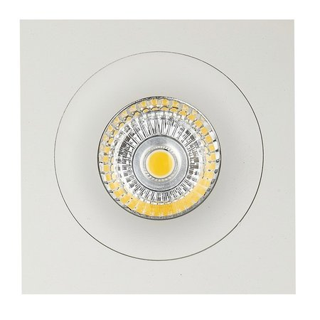 Downlight white square hole size 80mm outside size 93.7 mm