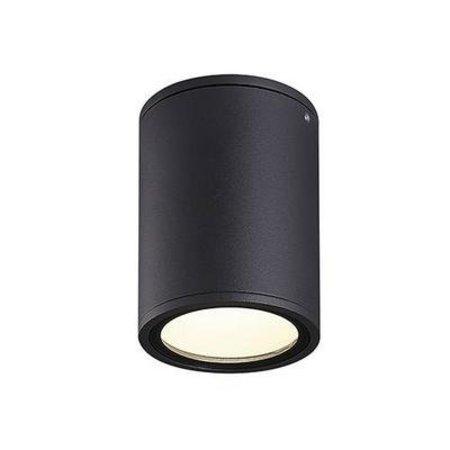 Plafondlamp buiten design LED antraciet, grijs 132mm 12W