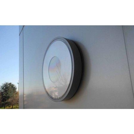Outdoor ceiling light LED design 210mm diameter 12W