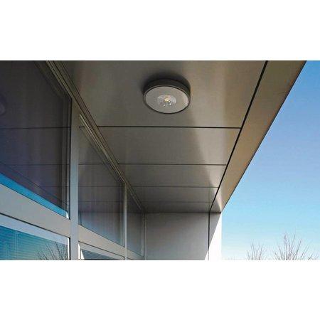 Outdoor ceiling light LED design round 280mm diameter 30W