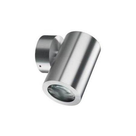 Outdoor wall light fixture grey up or down 125mm H GU10