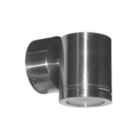 Outdoor wall light LED up down 85mm high 4W aluminium