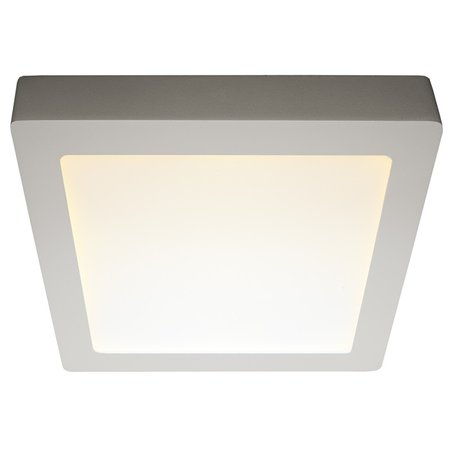 Dimmable ceiling light LED black & white 235x235mm 18W