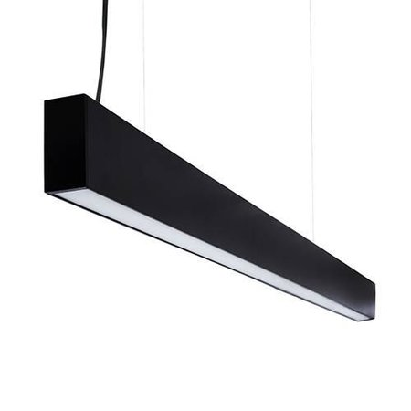 Long dimmable pendant light LED black or white 1152mm 18W