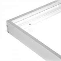 Built-up frame for LED panel 30x150