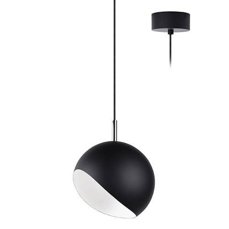 Hanging lamp ball 180mm 10w module copper, white or black