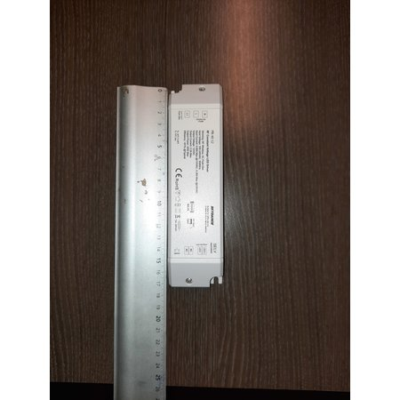 Dimmable driver 12Volt DC up to 40W humid places with possible remote dimmer