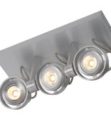 Plafondlamp LED dimbaar GU10 3x4.5W 286mm breed