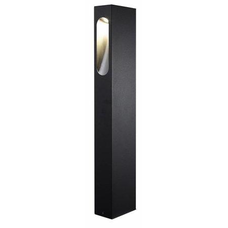 Lampadaire exterieur LED blanc, argent, rouille ou graphite 650mm 5W
