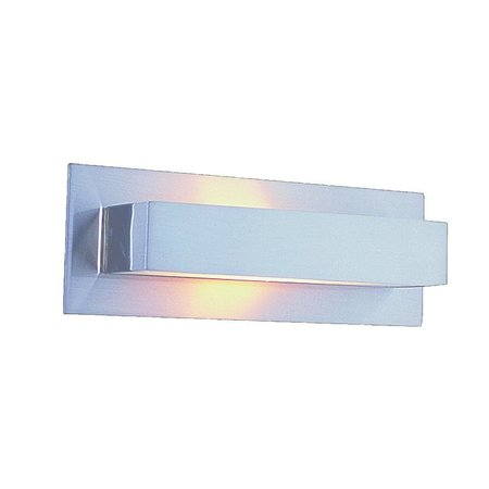 Wandlamp LED grijs up down 210mm breed G9 2x2,6W