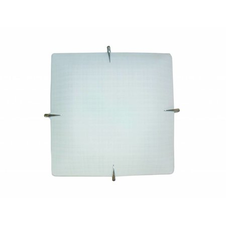 Wall light white square E27 400mmx400mm