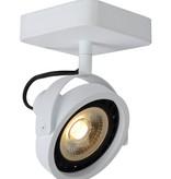 Plafondspot LED zwart of wit AR111 1x12W dim to warm