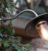 Outdoor wall light rural bronze-chrome-nickel 60cm 45 °
