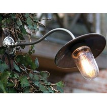 Authentage Outdoor wall light rural bronze-chrome-nickel 60cm 45 °