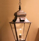 Pendant light lantern rustic bronze, nickel 60cm design