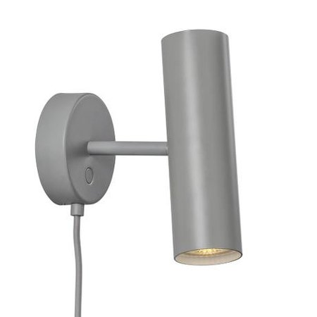 Wall light design white, grey or black orientable GU10 270mm high