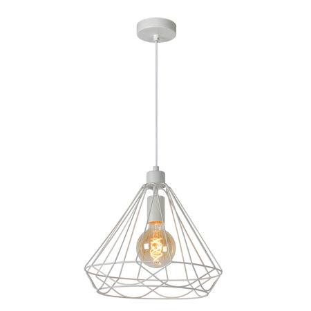 Hanging lamp wire white or black 20cm or 32cm Ø E27