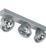 Ceiling light living room white, black or silver 470mm W