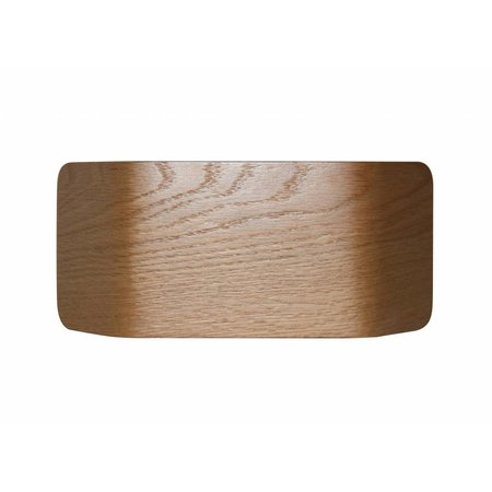 Wall light LED wood or alu up & down 7,5W 221mm wide