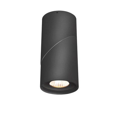 Plafonnier cuisine 185mm H LED cilyndrique orientable 10W