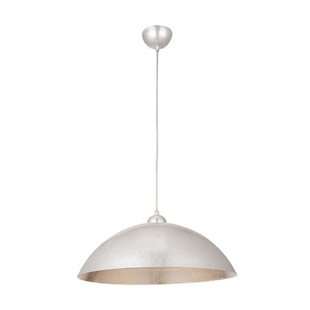 Hanging lamp gold or silver dome 47 cm diameter E27