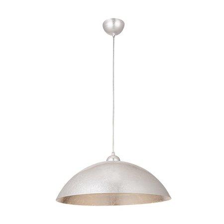 Hanglamp goud of zilver koepel 47 cm diameter E27