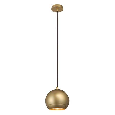 Pendant lamp medium ball, white, copper, brass, chrome or wine red 145mm Ø