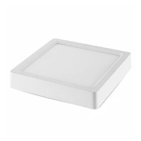 LED paneel plafond opbouw vierkant 12W 167x167mm wit