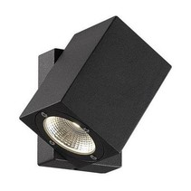 Wandlamp buiten LED zwart richtbaar 100mm hoog 7W